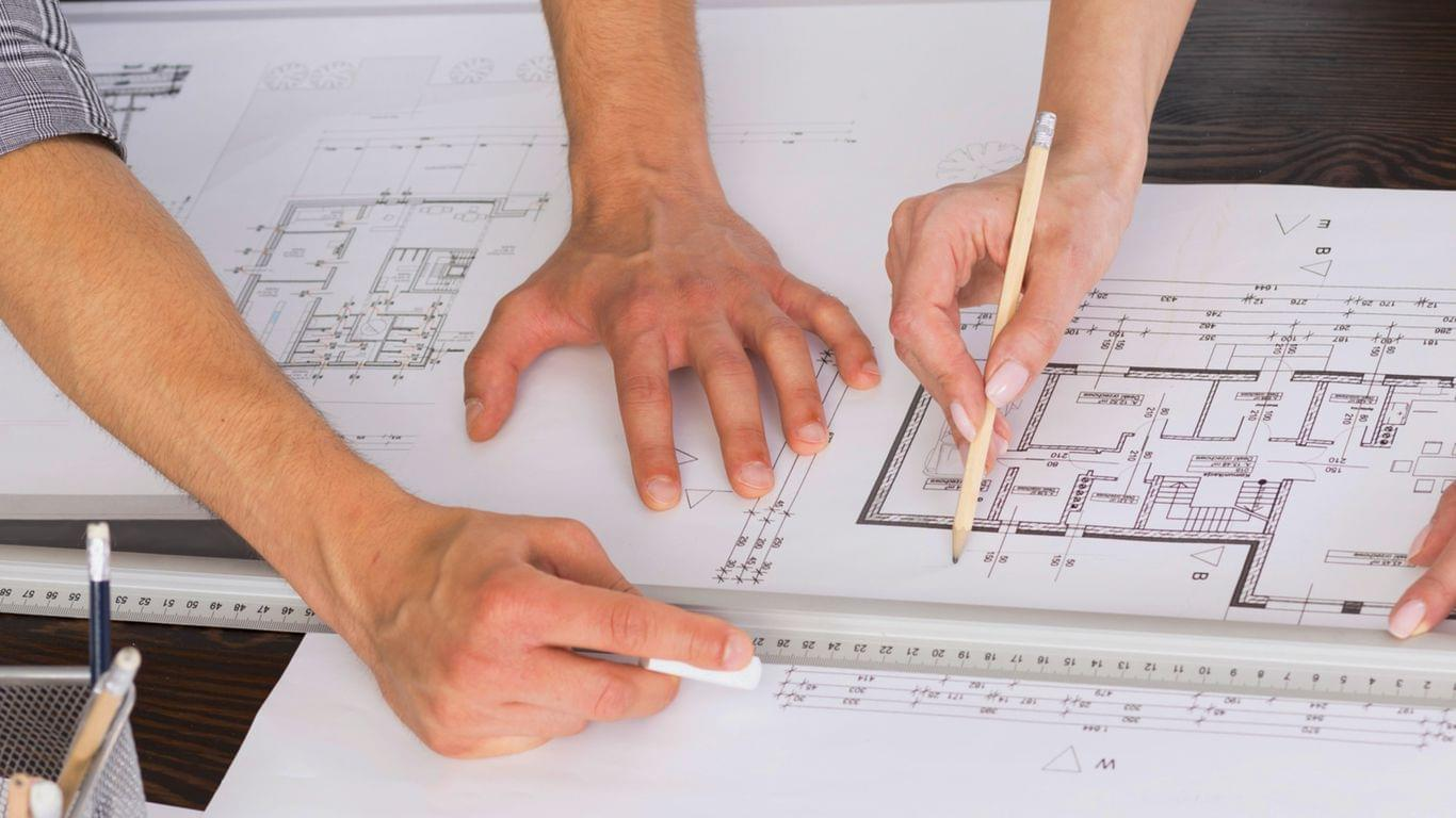 Строительный проект и получение разрешения на строительство от архитектурного бюро TMV